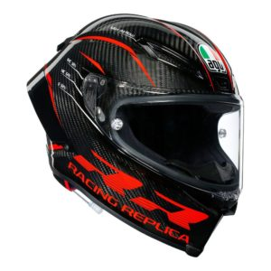 AGV PISTA GP RR HELMET PERFORMANCE CARBON RED