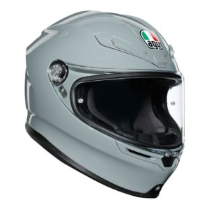 AGV K6 HYPHEN HELMET WHITE RED BLUE