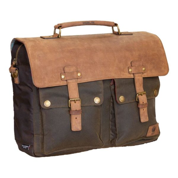 MERLIN LUGGAGE MESSENGER CHEADLE OLIVE