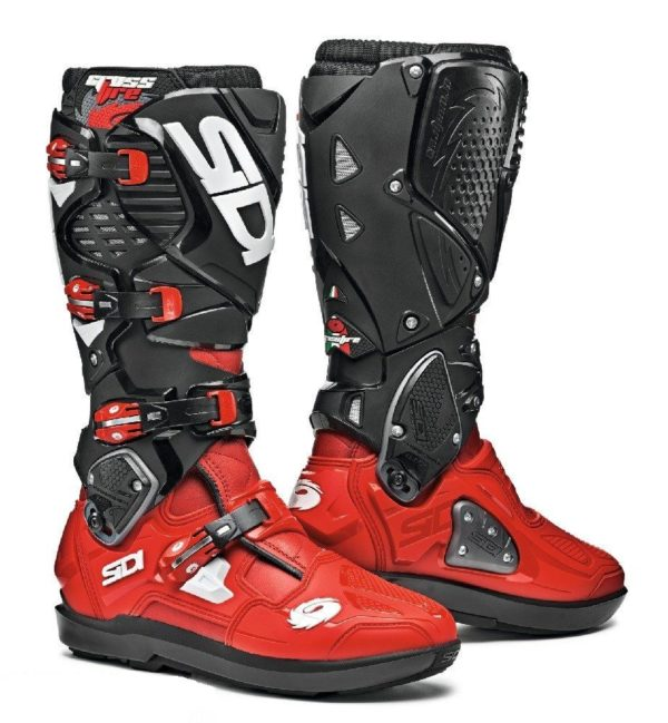SIDICROSSFIRE 3 SRS BOOTS RED RED BLACK