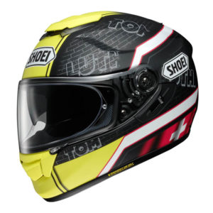 SHOEI GT-AIR LUTHI TC-3 YELLOW HELMET