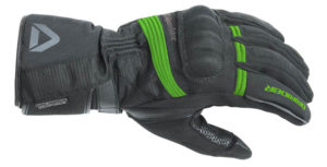 DRIRIDER ADVENTURE 2 GLOVE BLACK GREEN