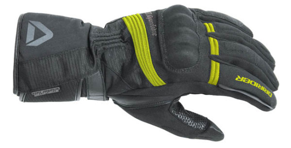 DRIRIDER ADVENTURE 2 GLOVE BLACK HI-VIS