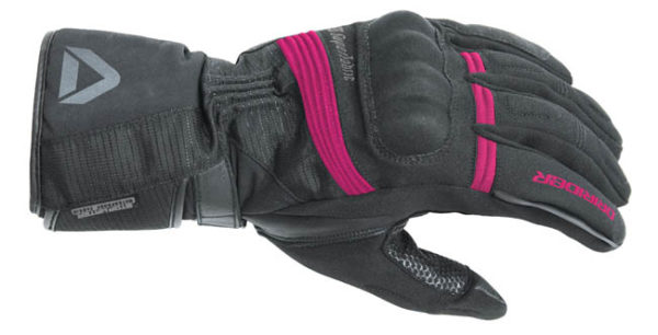 DRIRIDER ADVENTURE 2 GLOVE BLACK PINK