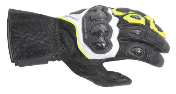 DRIRIDER AIR-RIDE 2 L/C GLOVE BLACK WHITE YELLOW