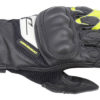DRIRIDER SPRINT GLOVE BLACK WHITE YELLOW