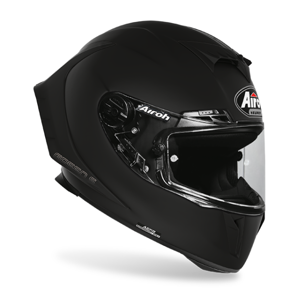 AIROH GP550-S SOLID MATT BLACK HELMET