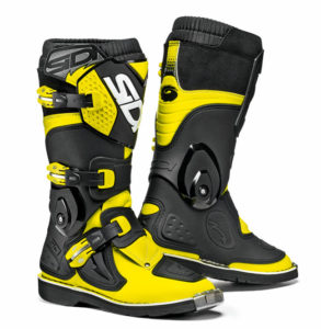 SIDI FLAME YOUTH YELLOW FLUO BLACK