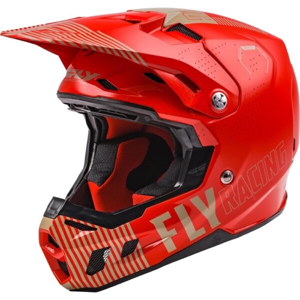 FLY RACING FORMULA CC PRIMARY RED/KHAKI