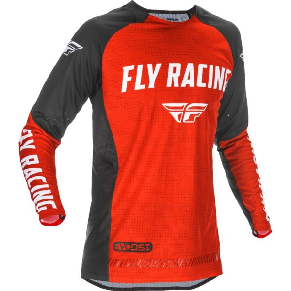 FLY RACING 2021 EVOLUTION DST RED/BLACK/WHITE JERSEY