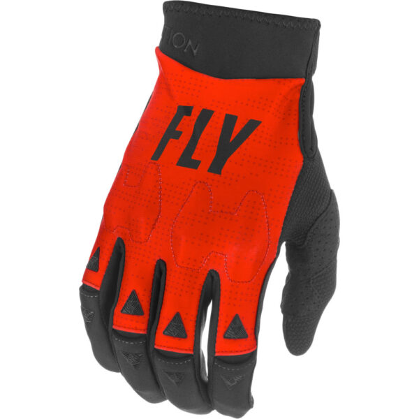 FLY RACING 2021 EVOLUTION DST RED/BLACK/WHITE GLOVES