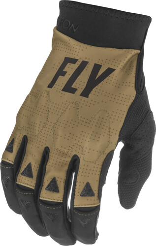 FLY RACING 2021 EVOLUTION DST KHAKI/BLACK/RED GLOVES