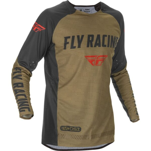 FLY RACING 2021 EVOLUTION DST KHALI/BLACK/RED JERSEY