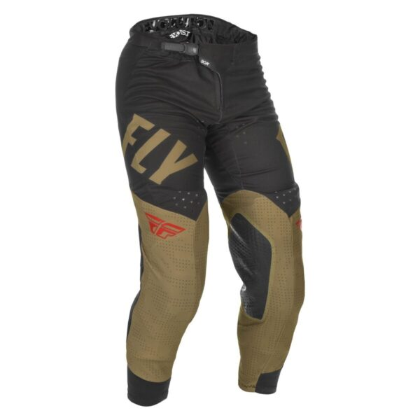 FLY RACING 2021 EVOLUTION DST KHAKI/BLACK/RED PANTS